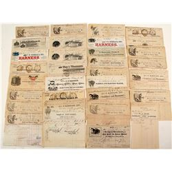 American Saddlery Billheads and Letterheads