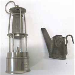 Fantastic Dortmund Mini Stainless Steel Oil Lamp and  Anton Oil Wick Lamp