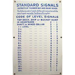 Standard Signals Sign