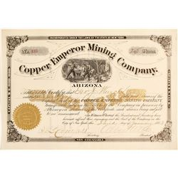 Copper Emperor Mining Company Stock Certificate