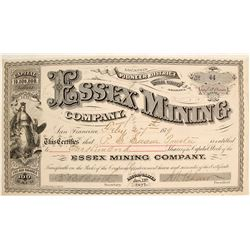 Essex Mining Company Stock Certificate