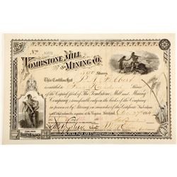 Tombstone Mill & Mining Company Stock Certificate