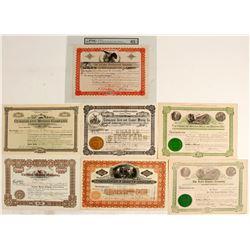 Prescott Mining District Stock Certificate Collection