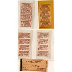 Arizona Copper Co Paper Tokens