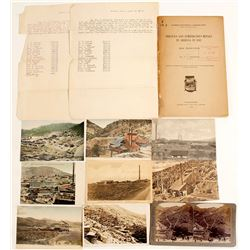 Arizona Mining Stereoview, Postcards and a Booklet