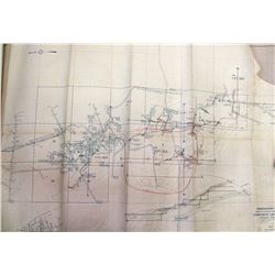 Greenhorn Mine/ Shasta County, California/ Composite level Map/ Showing Geology/ Feb. 18 1929/ D.A.