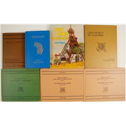 California Mineral and Gold District Books (7)