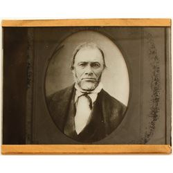 James Marshall Glass Plate Negative