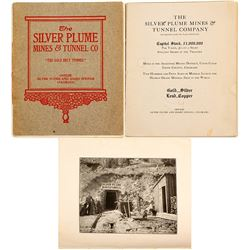 Silver Plume Mine & Tunnel Co Prospectus