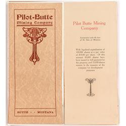 Pilot-Butte Mining Co. Prospectus
