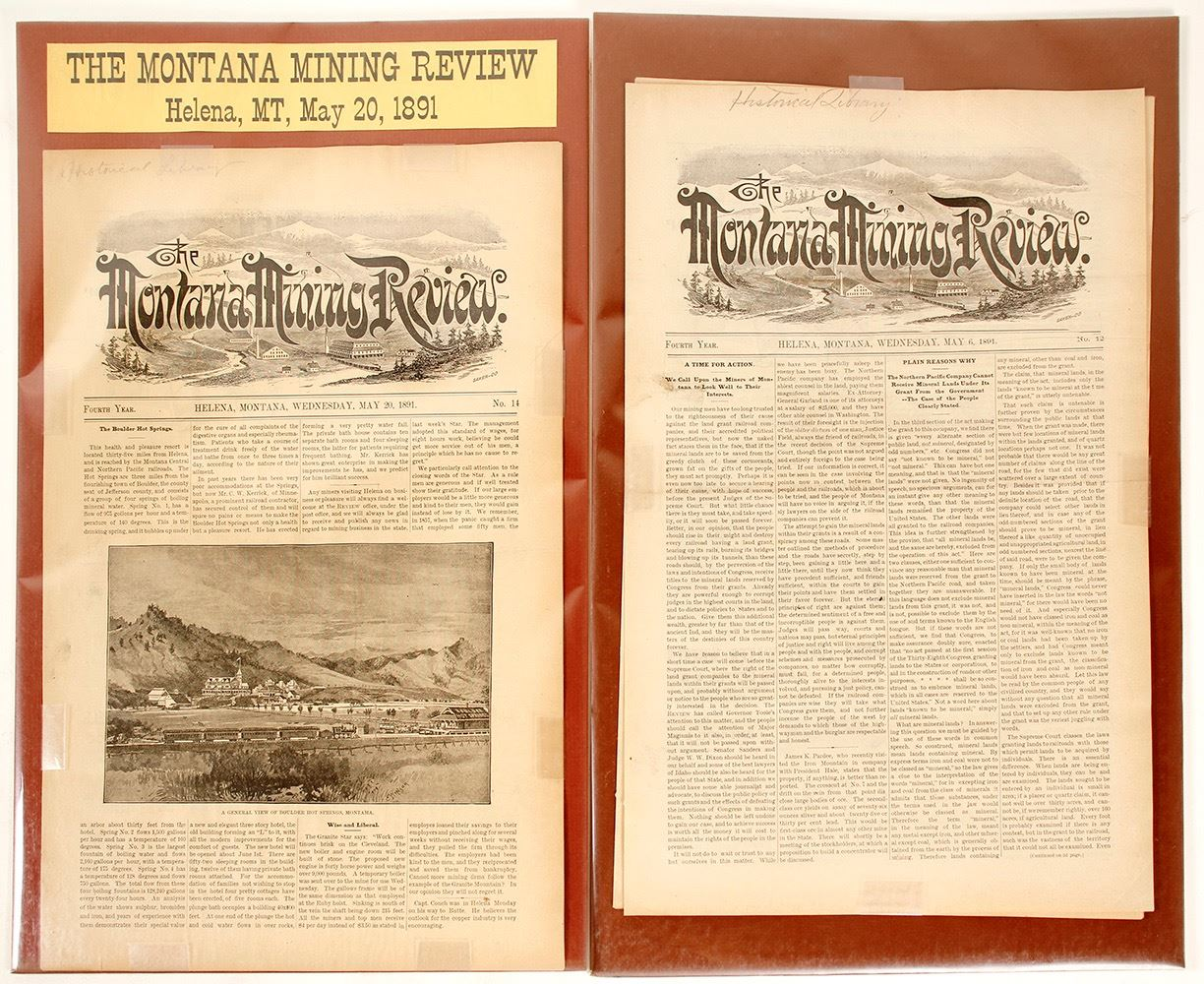 The Montana Mining Review
