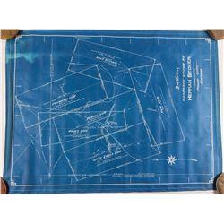 Blueprint of Herman Stoker's Property, Madison County Montana