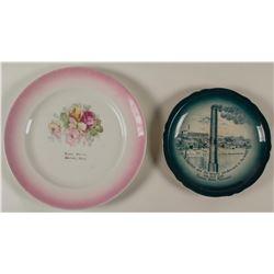 Boston & Montana Smelter Souvenir Plate