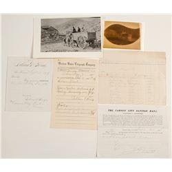 Candelaria, Nevada Mining Documents (Plus One Bodie)