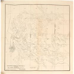 Map of Goldfield Mining District