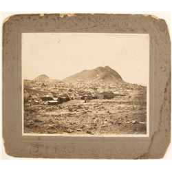 1907 Mounted Photograph of Tonopah, Nevada