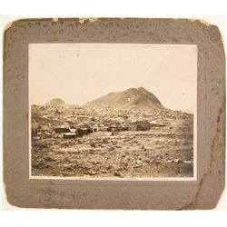 1907 Mounted Photograph of Tonopah, Nevada