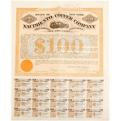 Nacimento Copper Company Gold Bond