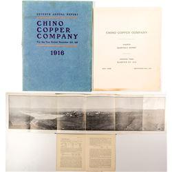 Chino Copper Company Reports and Ephemera