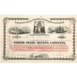 North State Mining Company Stock Certificate