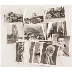 21 Oregon Mining Vintage Black and White Photos