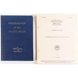 Black Hills, SD Geology Books (2)