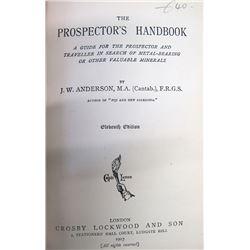 Book The Prospector's Handbook by Anderson