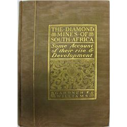 Diamond Mines of South Africa (Book with Illustrations)