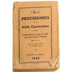 Miner's Union Book, Rare