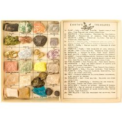 Earth's Treasure Vintage Mineral Kit