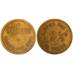 Walkers Token, Virginia City, Montana