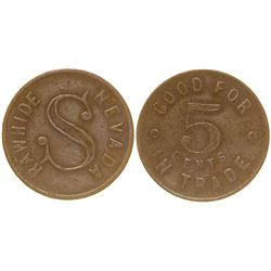 """S"" Token (Rawhide, Nevada)"