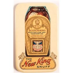 New King Snuff Advertising Mirror, Nashville