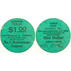 J. Wahrenberger Token, Conroe, TX