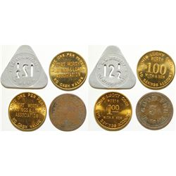 Four Ft. Worth, TX Tokens