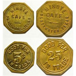 Minute Café Tokens, Gladwater, TX