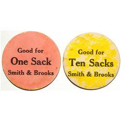 Smith & Brooks Tokens, Glen Flora, TX