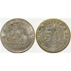 J. L. Wootton Co. Token, Talco, TX