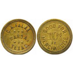 C A Falke Token, Warda, TX