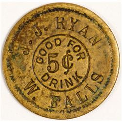 JJ Ryan Token, Wichita Falls, TX