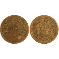 Yantis Drug Co. Token, Yantis, TX