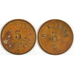Two Yoakum, TX Tokens