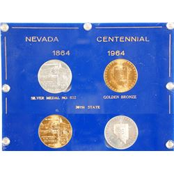 Nevada Centennial Medal Set