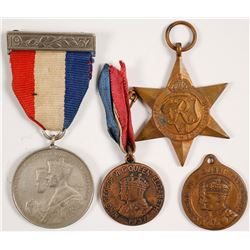 George VI Inauguration Medals