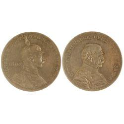 Otto V. Bismarck Silver Medal