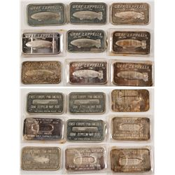 Graf Zeppelin Silver and White Metal Ingots (9)