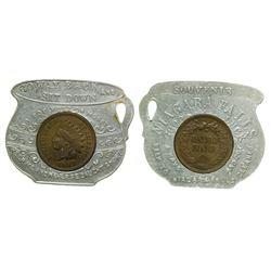 Chamber Pot Encased Penny (Niagara Falls)