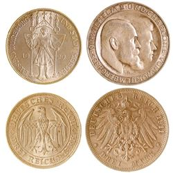 Two German Coins