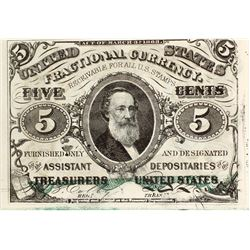 5 Cents Third Issue Fractional Currency