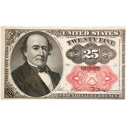 25 Cents Fifth Issue Fractional Currency